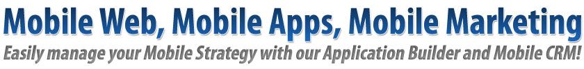 Mobile Apps, Mobile Websites & Mobile Marketing